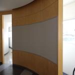 5-掲示板設置後のR壁