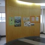 4-掲示板設置前のR壁